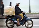 keeping dry Hanoi, Vietnam