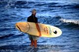 morning surfing, Pauoa Bay, Big Island, Hawaii