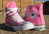 My Pink Chucks!