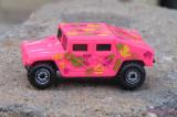 Pink HotWheel Hummer