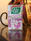 Pink tic tacs