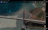 Google Earth - ScreenShot - Golden Gate Bridge- on Kindle Fire HD 8.9