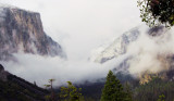 Tunnel View, Yosemite, clearing in storm, 5/25/2012, 6:26pm. #4511c