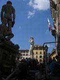 Piazza della Signoria: Heracles, David