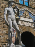 David, symbol of The Republic, against the Medici 'Goliath'