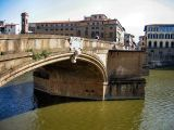 More Arno - Ponte Santa Trinita, where we enjoyed the whole scene