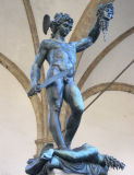 Yikes. Cellini's Perseus and Medusa