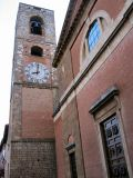 Liked bell and clock.  Doors are beautiful in Italy, in all their variety.