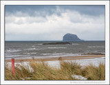 Bass Rock and the Snow Clouds