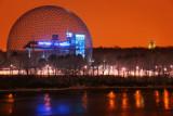 Biosphere Building in Montreal City
