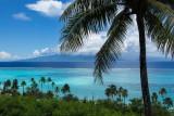 Looking across to Tahiti from Moorea