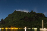 5 minute exposure; Rotui, Cook's Bay, Moorea, French Polynesia