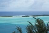 The Bora Bora lagoon
