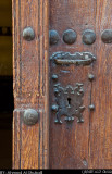 Wooden Door From Jabrin Fortress