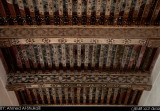 Wooden Ceiling with ornaments - Jabrin Fortress