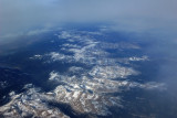 Autumn snow covers the Rocky Mountains