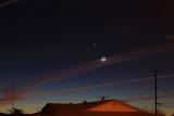 Moon-Venus-Mercury Conjunction