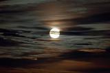 Full Moon in an eerie sky