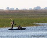 Fishing on Chobe River