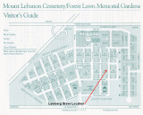 Grave location on cemetery map