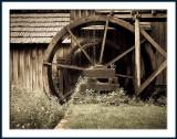 Mabry Mill Wheel