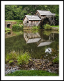Mabry Mill with Mill Pond