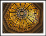 Stowe Rotunda Stained Glass Dome