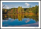 Hart's Square Lower Lake--Fall morning