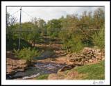 Elliptical Bridge over Reedy Fork