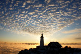 DSC00675.jpg ' MORNING MAGIC OVER THE ATLANTIC OCEAN AND PORTLAND HEAD LIGHT'  a new day of hope and beauty