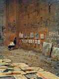 Greenwich Village Art Show  - Circa 1957