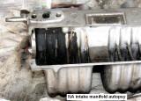 Intake manifold cutaway