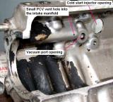 Manifold cutaway
