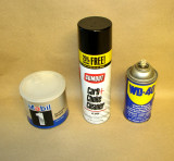 Stuff to clean and lubricate