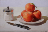 1. Still Life with Peaches and Sugar 10 x 15