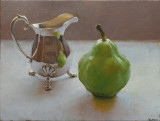 4. Pear and Silver Creamer 8 x 11