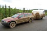 hauling haul road mud south