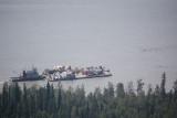 barge on the Tanana