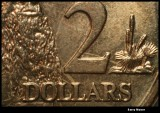 Two dollars close up