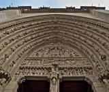 Cathédrale Norre Dame de Paris - Portal of Saint Anne