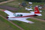 4100     Mooney C-GHXM and HS 748 C-FQVE
