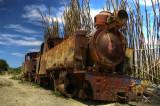 Old Steam Loco at Port Amboim
