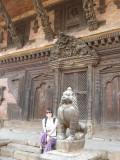 L'architecture au Népal est superbe.