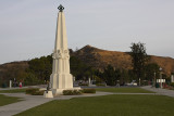 Facing Towards Mount Hollywood Trail
