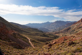 In the Grapevine Mountains