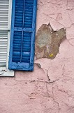 Broken shutter
