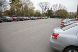 The parking lot at the real St. Hilda's - member parish of ANiC
