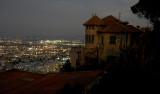 Haifa at night
