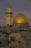 Last Light at Dome of the Rock