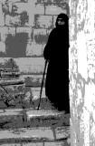 Woman near Church of Holy Sepulcher pstr